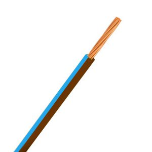 CABLE SINGLE 3MM BROWN/BLUE 30M 14/.32 STRANDING Product Image 1
