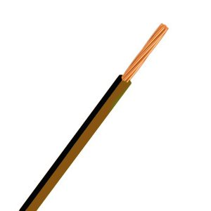 CABLE SINGLE 3MM BROWN/BLACK 100M 14/.32 STRANDING Product Image 1