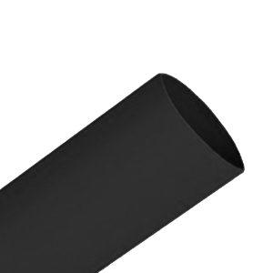 Heatshrink, 25m, Black, 1.2M