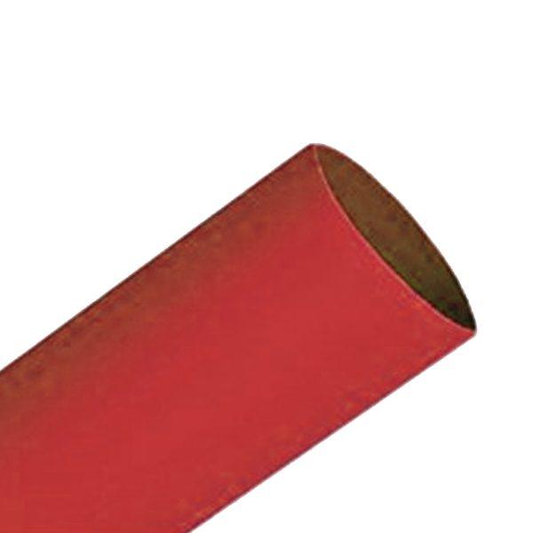 Heatshrink, 10mm, Red, 75mm Lengths, Pkt 6