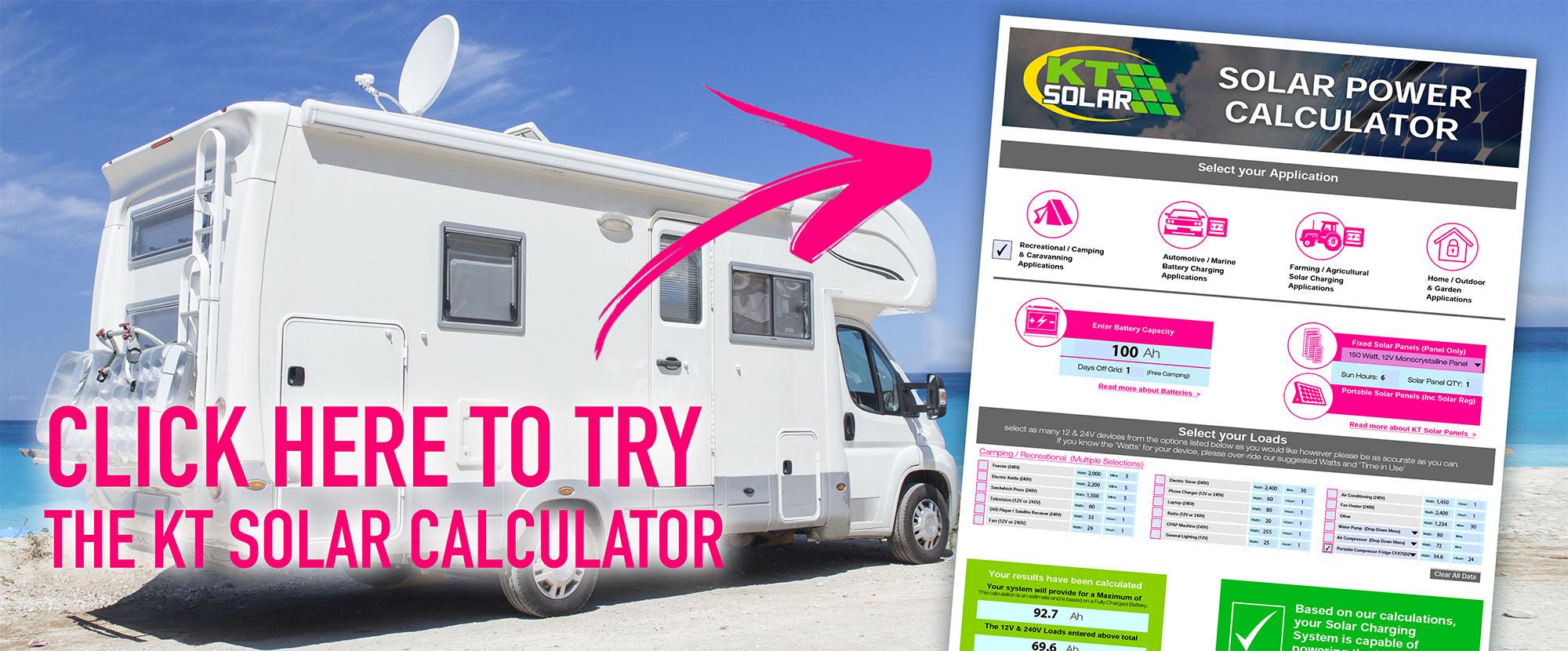 KT Solar Power Calculator - KT Cables