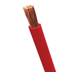 Automotive Battery Cable, Red, Size 00, Stranding 910/.30, 100M Roll