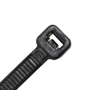 Cable Tie, Nylon UV, Black, 1220mm Long x 9.0mm Wide, 100 Pack