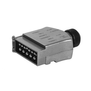 12 Pin, Trailer Plug Metal, Standard