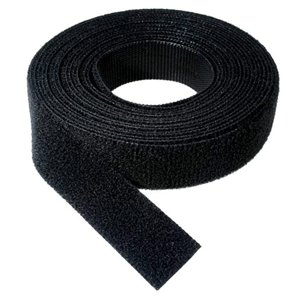Velcro One Wrap, 25mm, Black, 22.8M