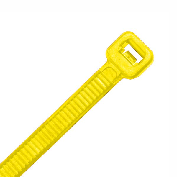 Cable Ties, Yellow, 100mm x 2.5mm
