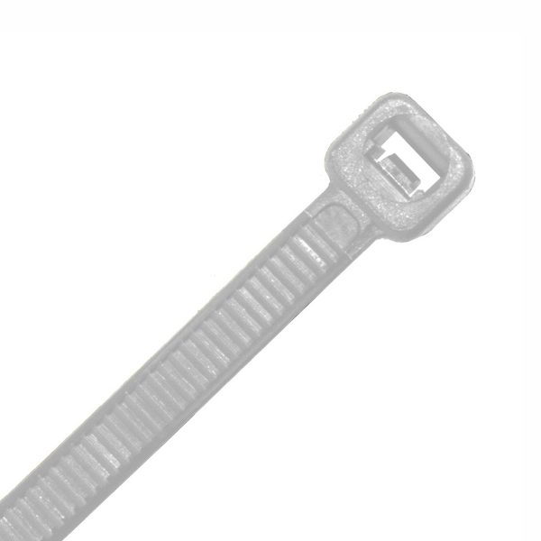 Cable Tie, Nylon UV, Natural, 200mm x 3.6mm