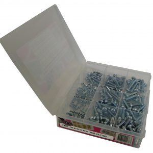Screw, Pan Metric XR Metal Thread Zp Pack, 255 Pcs