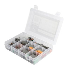 DT Series Deutsch Connector Kit Assortment, 106 Pieces