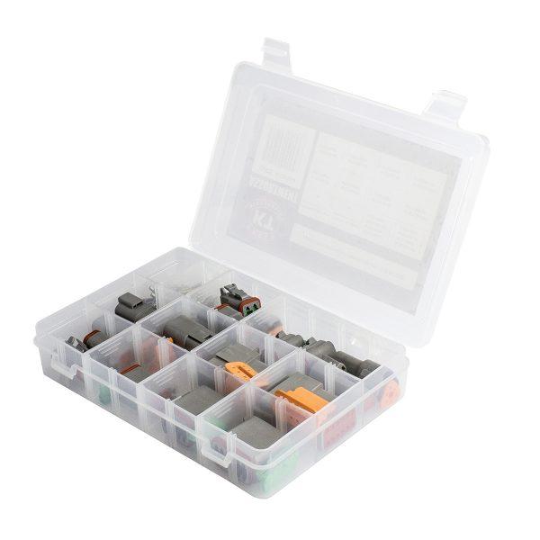 DT Series Deutsch Connector Kit Assortment, 106 Pieces