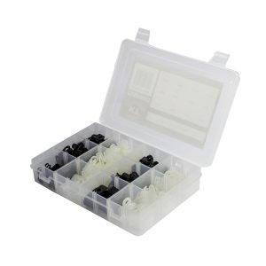 Nylon Clamp Kit, 170 Pcs