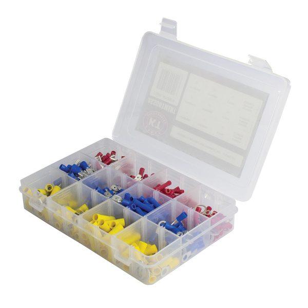 Insulated Terminal Kit Assortment, 225 Pieces