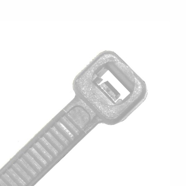Cable Tie, Nylon UV, Natural, 380mm x 7.6mm
