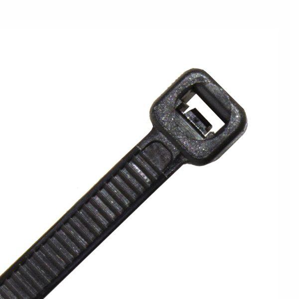 Cable Tie, Nylon UV, Black, 370mm x 4.8mm
