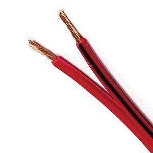 Automotive Figure 8 Cable, Red & Black, 3mm, 16/0.30 Stranding, 30M Roll