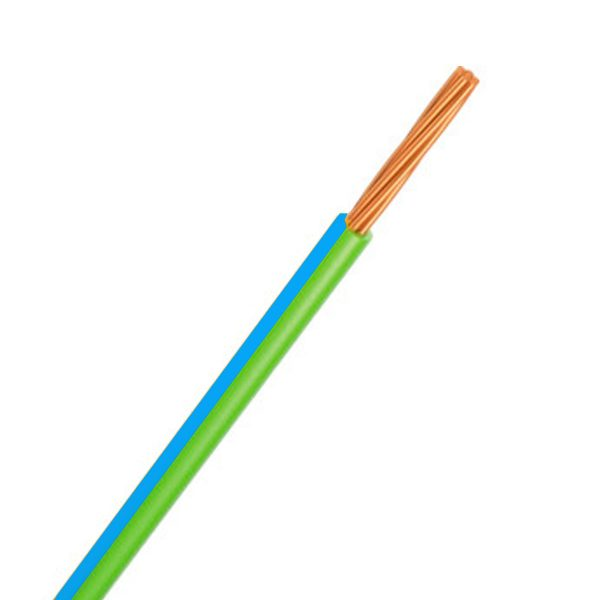 CABLE SINGLE 3MM GREEN/BLUE 100M 14/.32 STRANDING Product Image 1