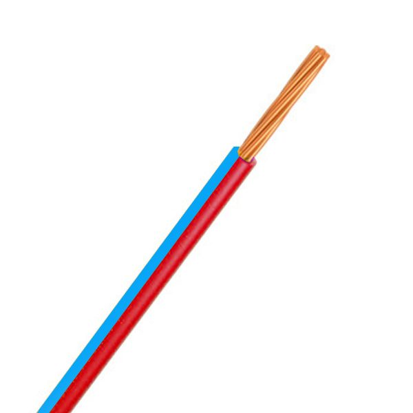 Automotive Single Core Cable, Blue & Red, 3mm, 14/.32 Stranding, 30M