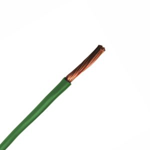Automotive Single Core Cable, Green, 3mm, 16/.30 Stranding, 30M