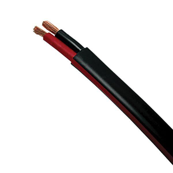Automotive Twin Sheath Cable, Black, 3mm, 16/.30 Stranding, 100M
