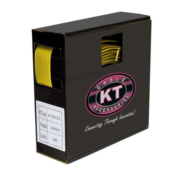 Heatshrink, 10mm, Yellow, Spool Mate, 10M