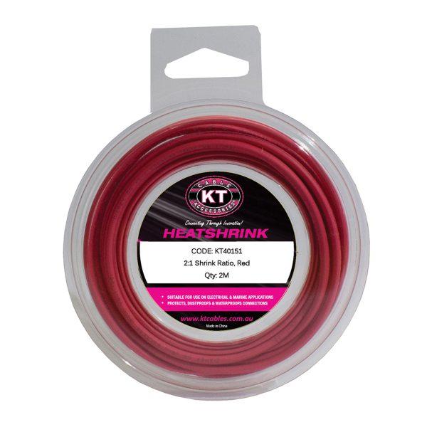 Heatshrink, Mini Spool, 13mm, Red, 2M