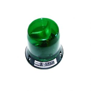 Beacon, 12V, 403 Series 3 Bolt, Green