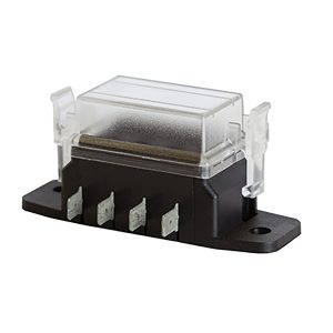 Fuse Block Mini, 4 Way, Cover