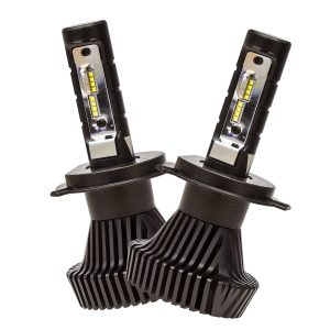 Globe, H4, 12V, 40W, LED, Dual Beam, Hi/Lo Beam, 6500K, Twin Pack