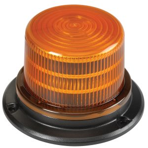 LED Beacon, Amber, 94 x 143mm Diameter, 9-33VDC