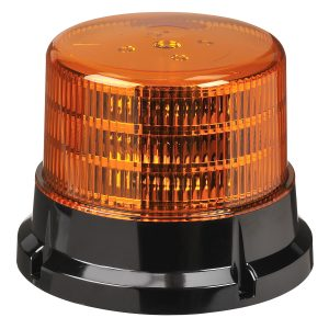LED Beacon, Amber, 9-33V,134mm, 167m
