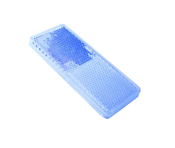 Reflector, Clear, 94mm x 44mm, 50 Piece Blister Pack