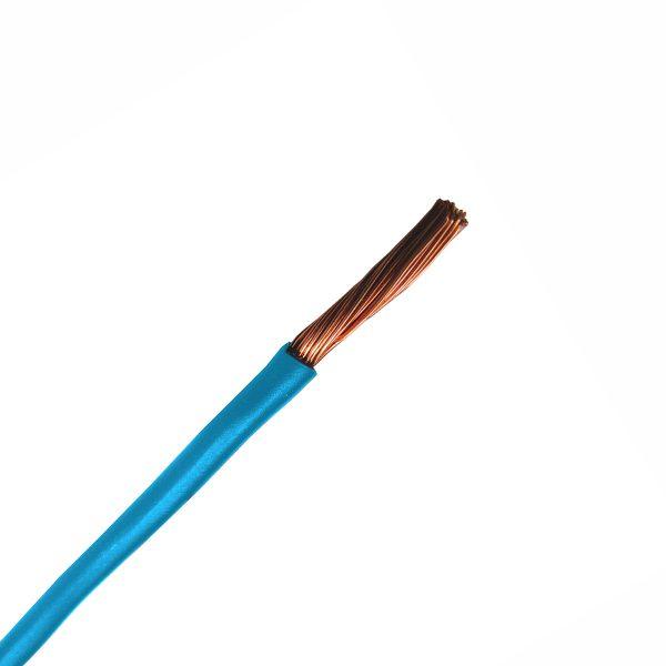 Automotive Single Core Cable, Blue, 5mm, 41/.30 Stranding, 30M