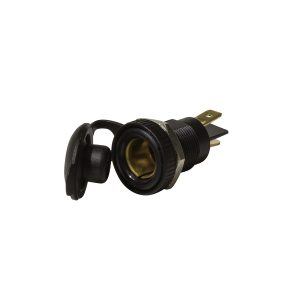 Accessory Socket, Merit Style, 12V, 15Amp