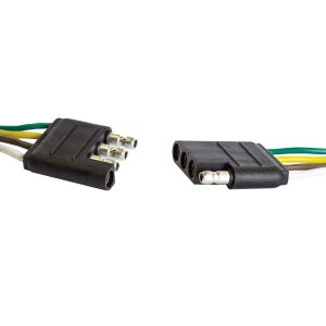 Harness Connector, Weatherproof, 4 Way, Blister