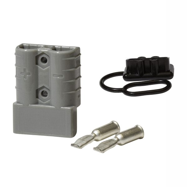 Heavy Duty Connector & Cover, 50Amp