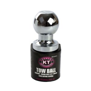 Towball, Chrome, 3500Kg, Shank Size 7/8""