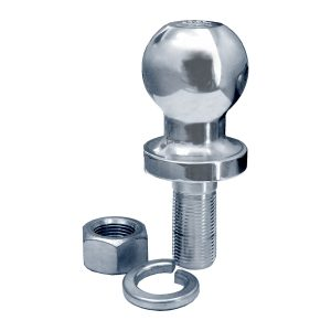 "Tow Ball, Chrome, 3500Kg Load Rating, Shank Size 7/8"", No Retail Packaging"