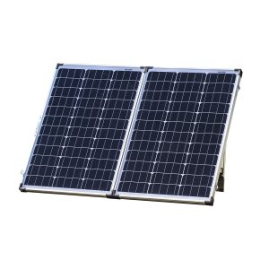120 Watt, 12V Mono-crystalline Folding Solar Panel Kit