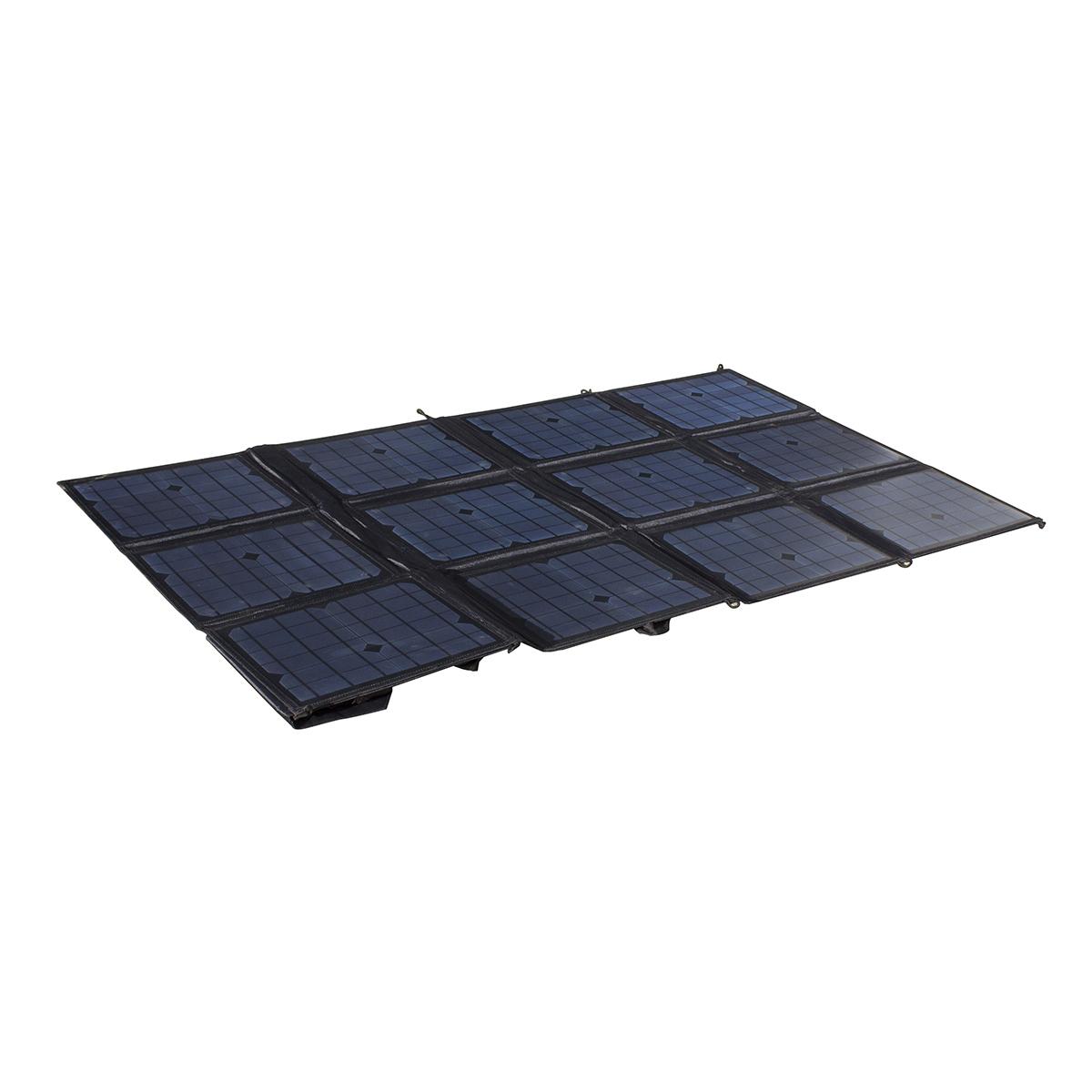 150 Watt 12v Portable Solar Folding Blanket Kt Cables