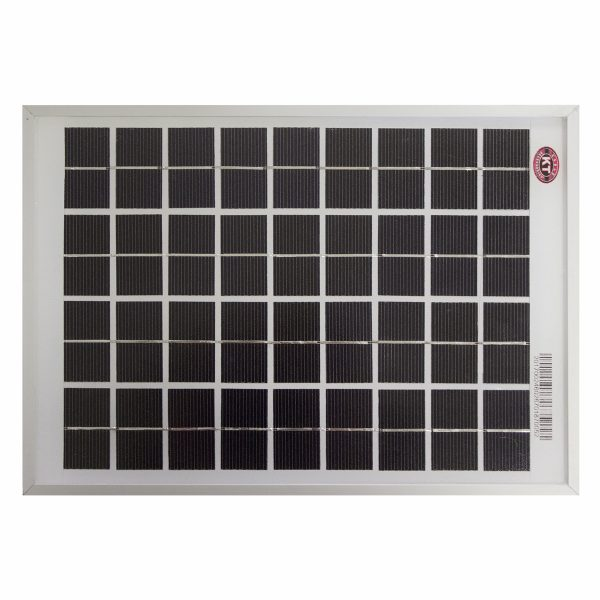 5 Watt, 12V Single Cell Mono-crystalline Solar Panel