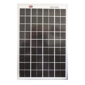10 Watt, 12V Single Cell Mono-crystalline Solar Panel
