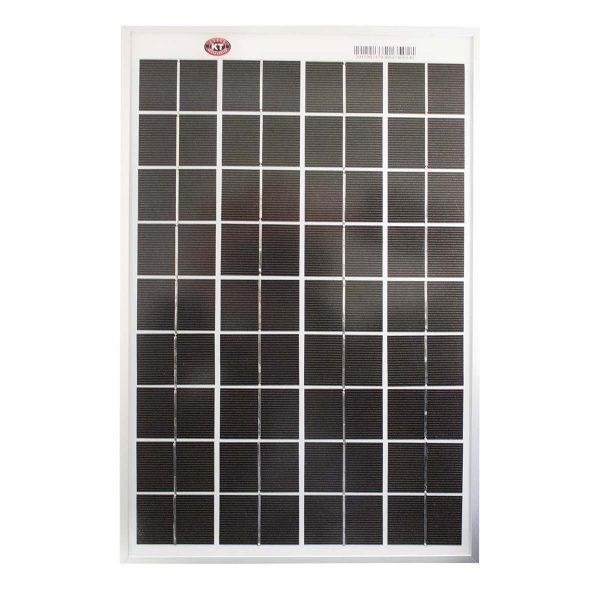 10 Watt, 12V Single Cell Mono-crystalline Solar Panel