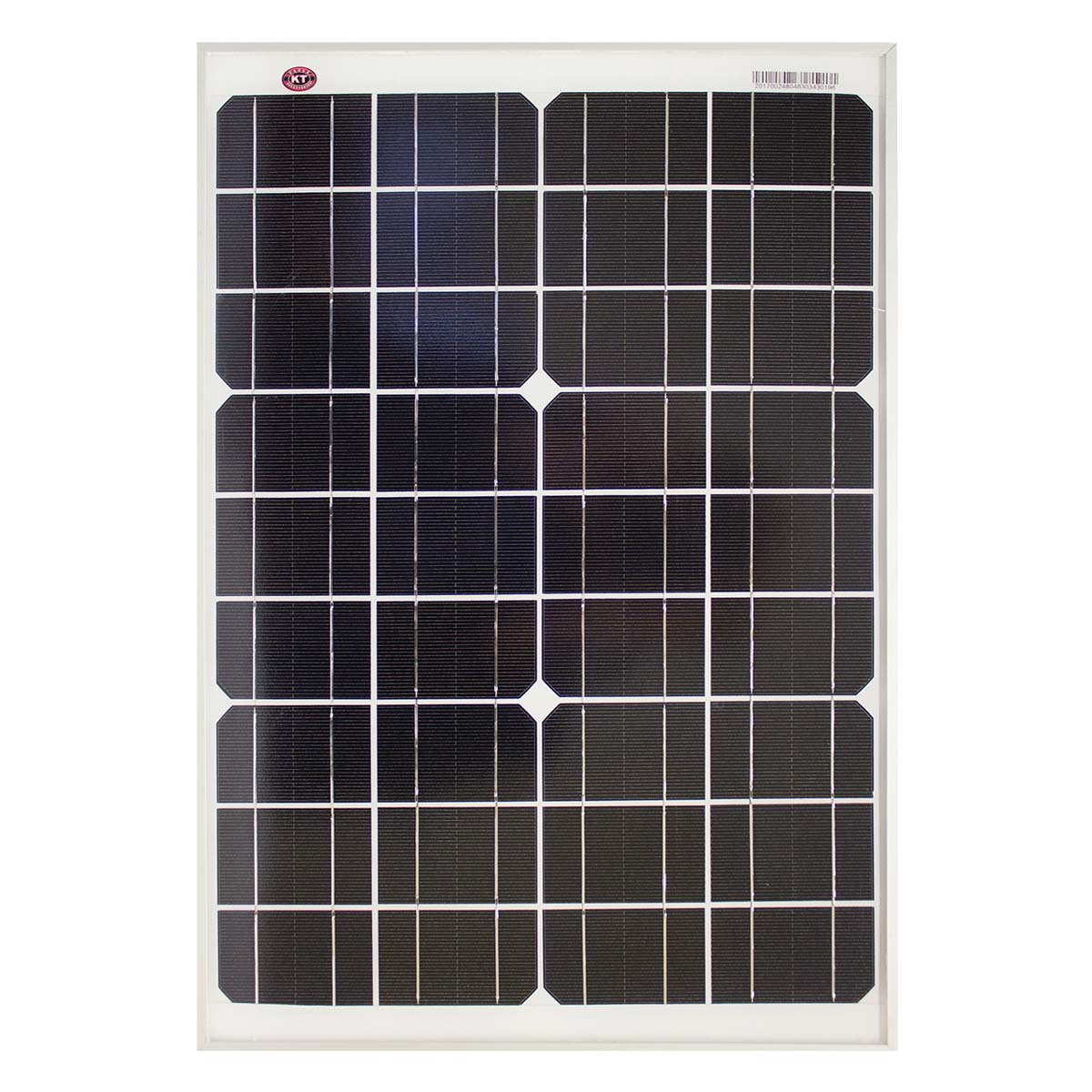 20 Watt 12v Single Cell Mono Crystalline Solar Panel Kt