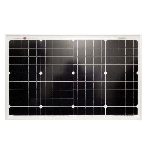 40 Watt, 12V Single Cell Mono-crystalline Solar Panel