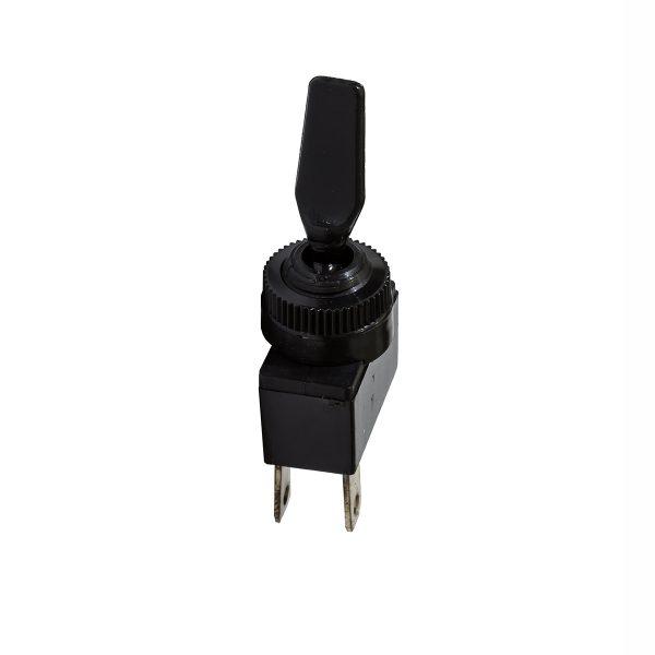 Plastic Toggle Switch, On/Off, 20Amps at 12V, 10Amps at 24V, , Bulk Qty 1