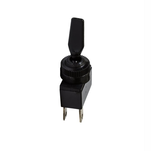 Plastic Toggle Switch, On/Off, 20Amp at 12V, Retail Blister Qty 1