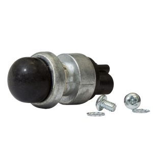Momentary Heavy Duty Push Button Switch, 60Amps at 12V, Retail Blister Qty 1
