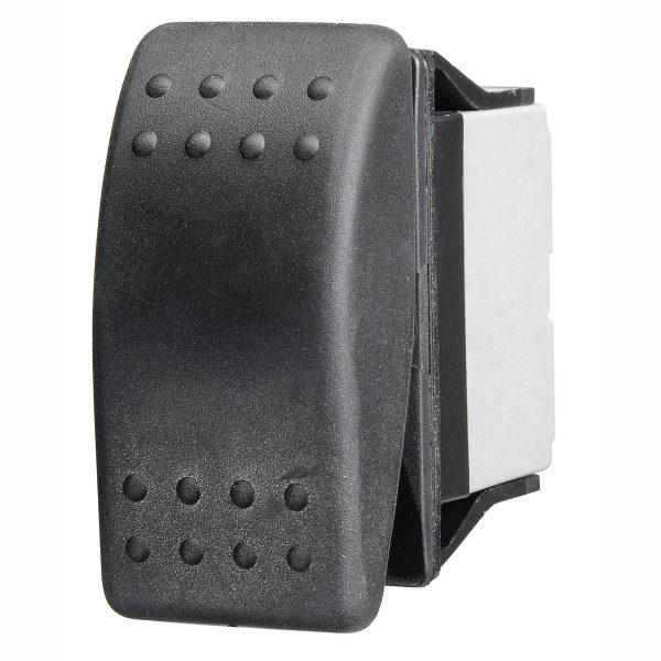 Sealed Blank Rocker Switch, On/Off, 16Amps at 12V, Bulk Qty 1