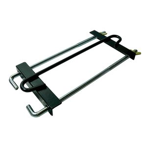 Battery Hold Down Clamp, Metal, 225mm Bolt, Suits 175mm Wide