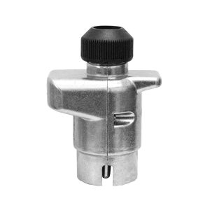 7 Pin, Large Round Trailer Plug, Metal